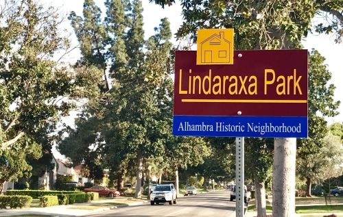 Lindaraxa.park.sign