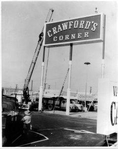 Crawfords.Corner.Sign.1960s